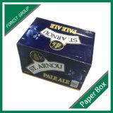Farbe gedruckter Champagne-Flaschen-Geschenk-Kasten (FP0200090)