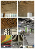 Teto decorativo do defletor de alumínio da tira da U-Forma do material de construção