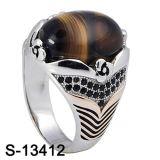 Ring van Juwelen 925 van de fabriek de In het groot Echte Zilveren