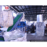 500kg/H PE/HDPE Flaschen, die aufbereiten, Maschine/, waschend, trocknende Zeile zerquetschen