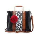 Sac d'emballage abstrait de femmes d'avant de configuration de mode (MBNO042036)