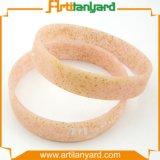 Wristband di gomma promozionale personalizzato del silicone