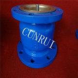 O Bw RF de API6d Wcb/CF8 termina a válvula de verificação do bocal com assento do metal