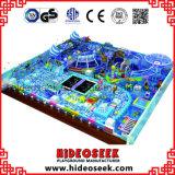 Estrutura interna padrão do jogo do Ce do tema do oceano grande para crianças