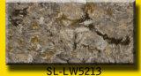 Davanzale della finestra, controsoffitto della pietra del quarzo della scintilla delle mattonelle di pavimento