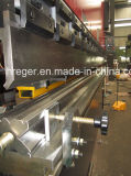 con la máquina plegable hidráulica serva del CNC Backgauge