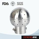 Bille rotatoire boulonnée sanitaire de nettoyage d'acier inoxydable (JN-CB2002)