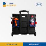 Hilfsmittel-Schrank hergestellt Werkzeugkasten-geöffneten Rot im Ningbo-China