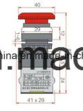 Dia22mm-La118mem4 de Schakelaar van de Drukknop van de Paddestoel, Zwarte, Rode, Groene, Gele, Blauwe, Witte Kleuren