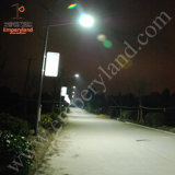 6m 25W LED Solar Street Light IP68 para Village Project