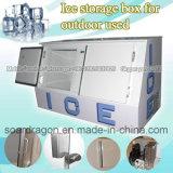 Eisspeicher-Kasten für im Freien verwendet