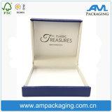 호화스러운 주문 로고 마분지 결혼식 종이 작은 목걸이 선물 상자