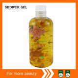Mitigação do lírio & gel de nutrição do chuveiro da pétala