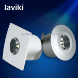 Projector Recessed do gabinete do ponto do diodo emissor de luz da ESPIGA mini com 1With3W