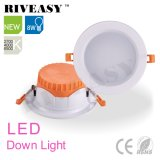 Lámpara 8W anaranjado LED Downlight del techo del LED con Ce&RoHS