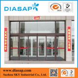 Porta deslizante automática para o uso da alameda e do banco de compra