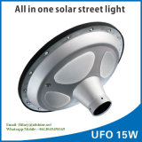 製造業者の供給UFO 15W太陽LEDの庭ランプの道ライト