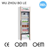 2016 produtos novos que revestem o refrigerador de vidro do armazenamento da medicina da porta