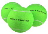 Balle de tennis gigantesque surdimensionnée de 9,5 po pour enfants Adultes Animaux domestiques