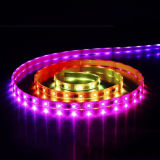 5VDC 9.6W / M SMD 5060 Artificial Inteligente Flexível Strip Light