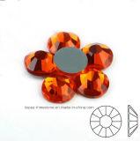 모조 다이아몬드 2088년 히아신스 둥근 유리 구슬 편평한 뒤 Hotfix 결정 (HF ss8 히아신스 또는 태양/4A 급료)