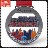 Venta caliente personalizada medalla deportiva con la cinta