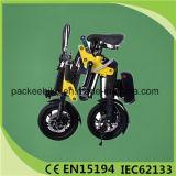 CE bicicleta elétrica de uma mini dobradura de 12 polegadas com assistência sem escova do motor