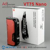 Ursprüngliche Evolv DNA75 Kasten-MOD Hcigar Vt75 der Batterie-26650 Batterie und 18650