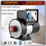 двойной альтернатор подшипника 1-12kVA устанавливает с поясом для тепловозного генератора, машины Compresser