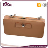 Fani самое последнее Deisgn RFID преграждая бумажник женщин, цепное портмоне бумажника с Bowknot