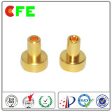 전자 제품에 있는 금에 의하여 도금되는 CNC 선반 부속