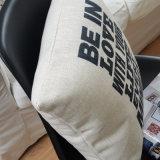 Ecoの友好的で現実的な綿のリネン枕挿入