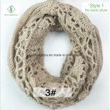 Искусственним грелка шеи шарфа безграничности Mohair вязания крючком 2017 связанная способом