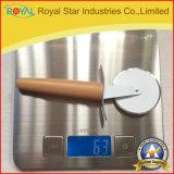 Coupeur de pizza d'acier inoxydable d'outil de cuisine/couteau en gros de pizza (RYST0133C)