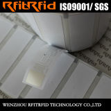Tag chave adesivo feito sob encomenda Printable das etiquetas RFID da freqüência ultraelevada 860-960MHz