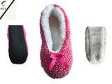 3つのカラー粒子ヤーンの屋内靴(RY-SL1609)