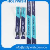 Логос браслета способа изготовленный на заказ один Wristband тканья пользы времени