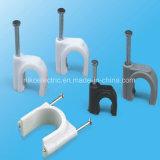Clip de câble carré pour câblage intérieur