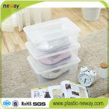 Casella di memoria di plastica trasparente del pattino