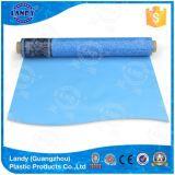 Fodere della piscina del PVC di resistenza di olio di Landy/pellicola raggruppamento del vinile