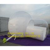Tenda gonfiabile trasparente romantica della cupola della bolla, stanza dei DOM della bolla