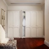 優雅6のドアの居間のための白い振動ワードローブ