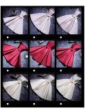 Satinbowknot-Abend-Partei-Brautjunfer-Abschlussball-Kleid 2017 (Dream-100041)