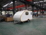作られるドイツシャーシが付いている贅沢なキャンプのトレーラーのキャラバン