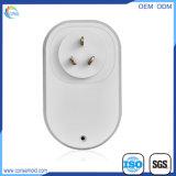 Shell sin hilos elegante del enchufe de WiFi de la potencia del socket de pared para el estándar de la UE