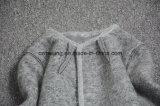 Capa de algodón acolchado de mujer gris
