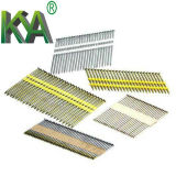 El zinc galvanizado papel Nails Strip para furnituring, Construcción
