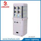 Luz solar recargable de la emergencia LED de la C.C.
