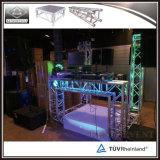 Het hete het Verkopen Ontwerp van de Cabine van DJ van de Bundel van de Spon van het Aluminium
