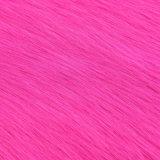 POM/Coatのための着色された毛皮の偽造品ののどの毛皮の高く長い山の毛皮ファブリック